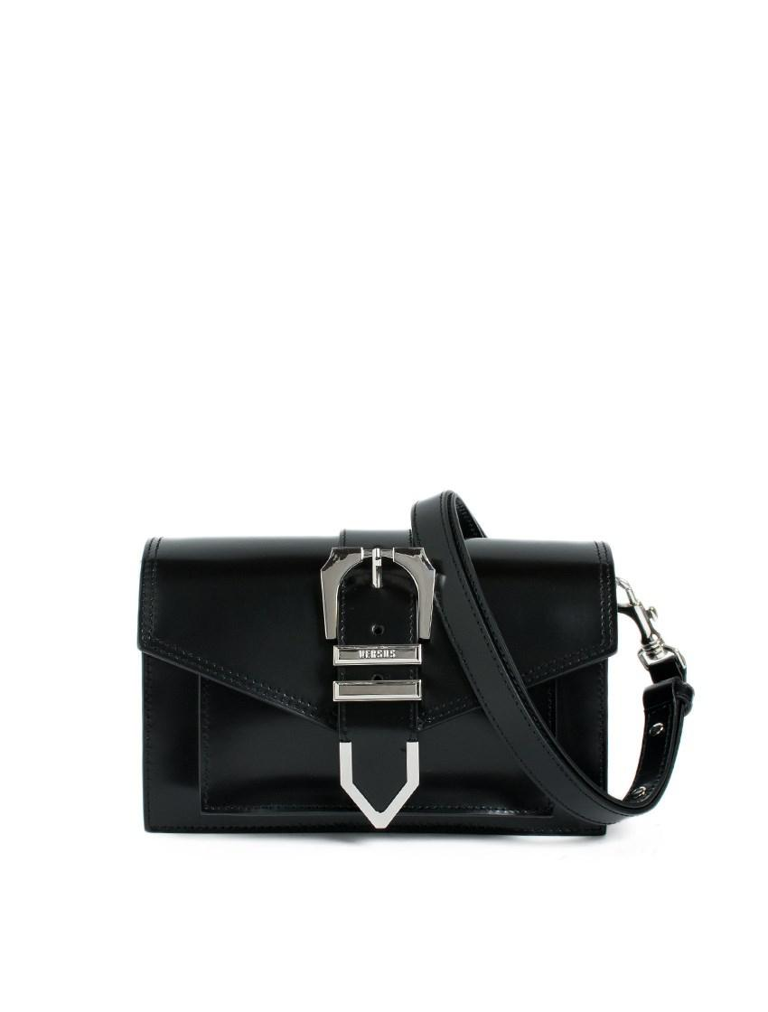 Versus buckled strap shoulder bag Free Shipping Pay With Paypal Sale Best Seller 0T60K0Fe
