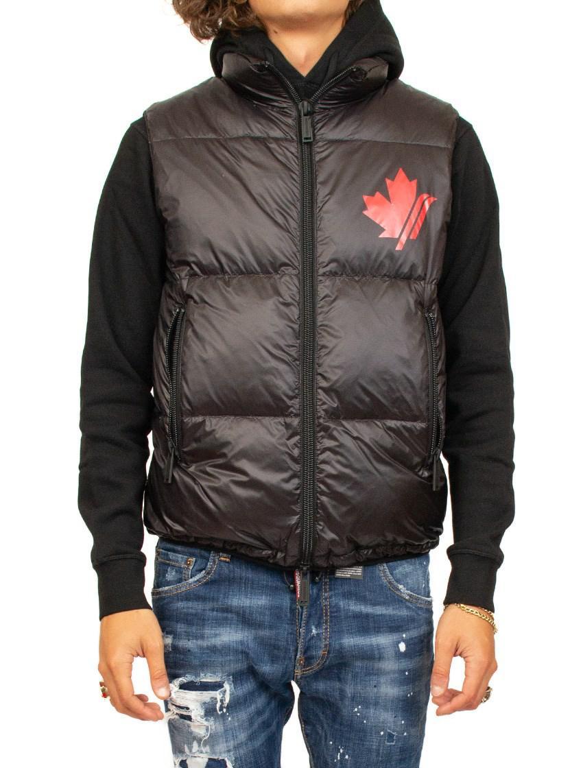 f6021c981a6b7f Lyst - Dsquared² Padded Sleeveless Coat for Men