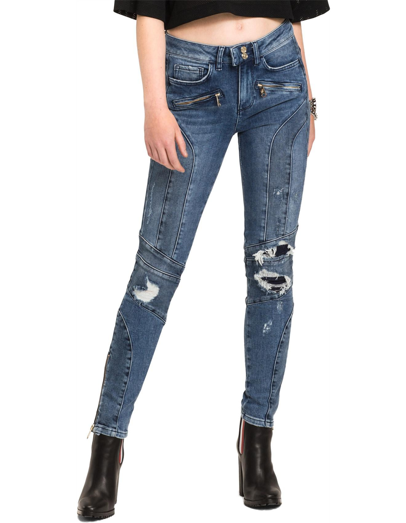 3668aff7e Tommy Hilfiger Gigi Hadid Venice Jean Ankle Speed in Blue - Lyst