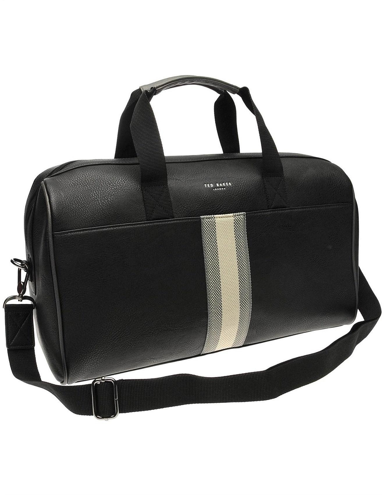 df391326d2f8c8 Ted Baker Webbing Holdall Bag in Black for Men - Save ...