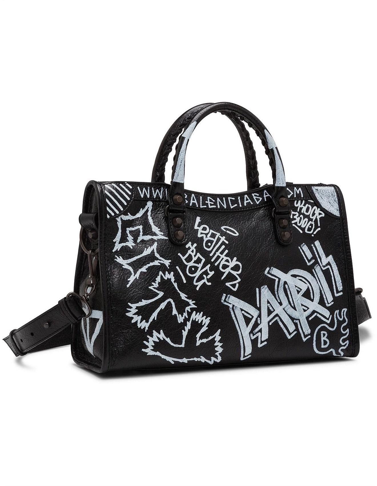 9540cdce8e02 BALENCIAGA CLASSIC CITY S GRAFFITI balenciaga bags