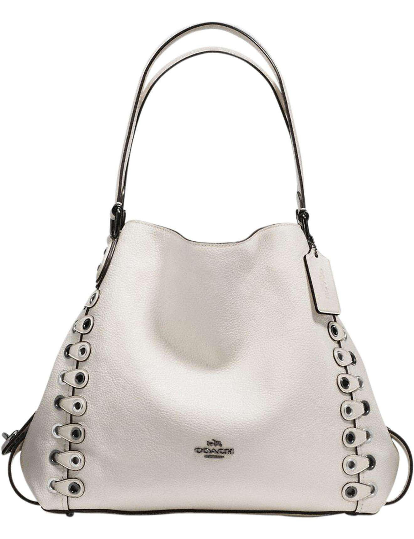 8fac87385a4 COACH Edie Shoulder Bag 31 With Link Detail - Lyst
