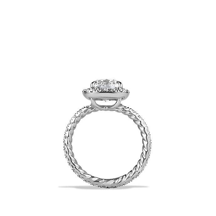 David Yurman Crossover Capri Engagement Ring