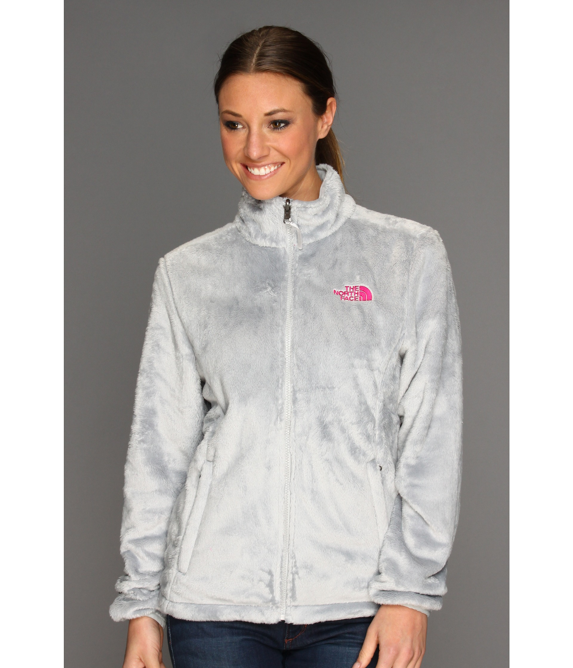 7ef01869b878 ... new arrivals lyst the north face osito jacket in gray 2b155 5ca83