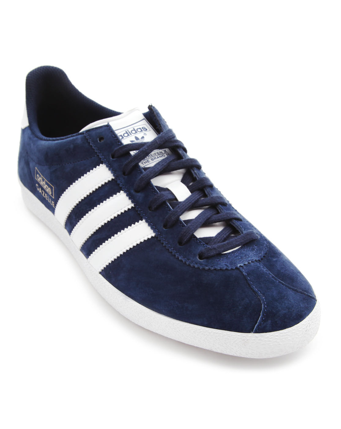 adidas originals gazelle og navy suede sneakers in blue for men lyst. Black Bedroom Furniture Sets. Home Design Ideas