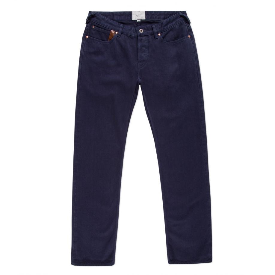 Paul Smith Men's Straight-fit Navy Garment-dye Jeans in ...
