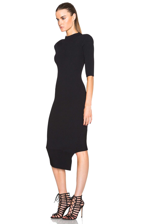 Lyst Camilla Amp Marc Restraint Knit Dress In Black