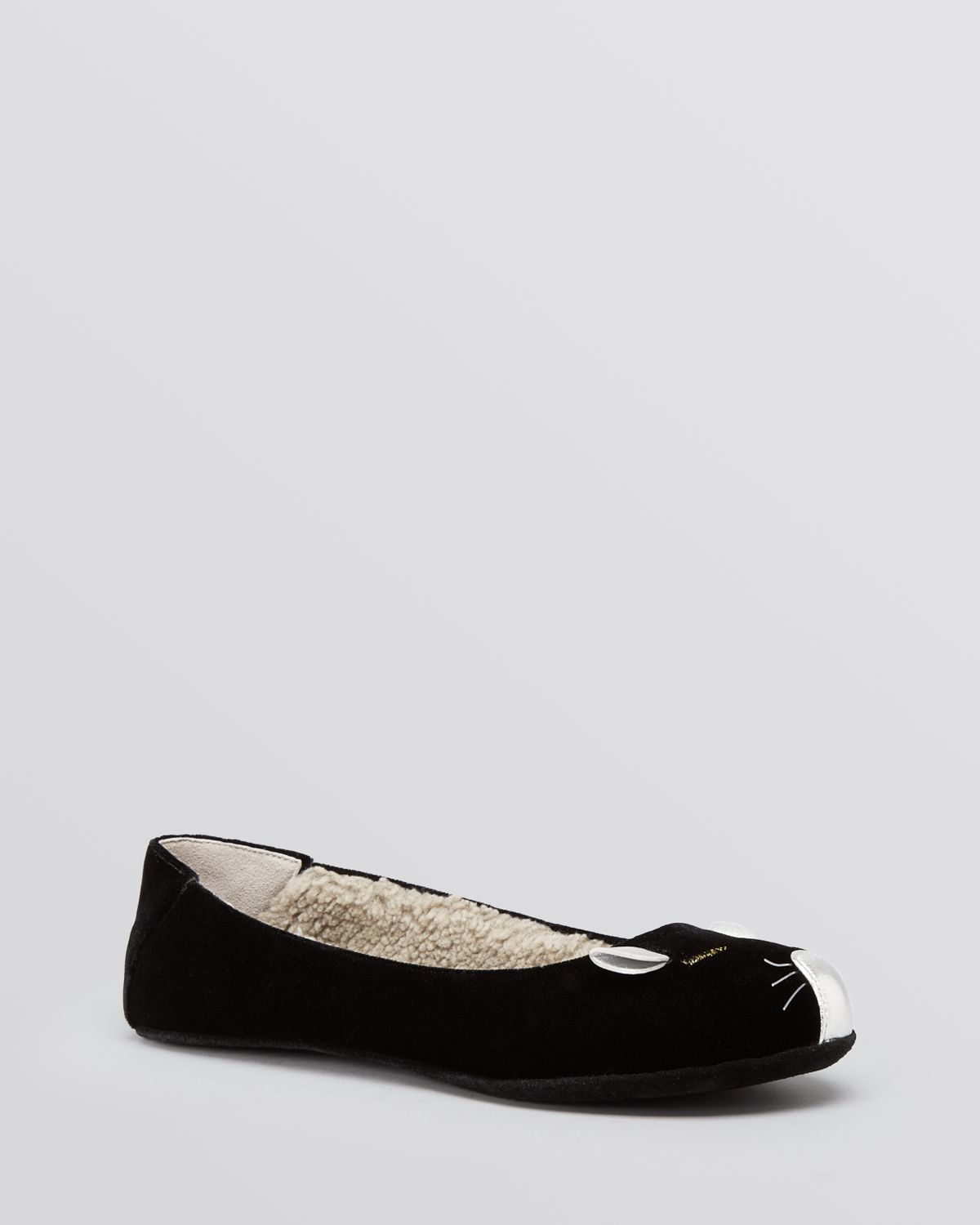 74c958eb6cbb Lyst - Marc By Marc Jacobs Flat Slippers - Galaxy Gifting Mouse in Black