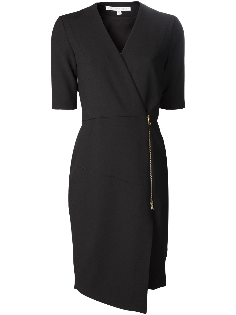 Phase eight hook up zip front dress