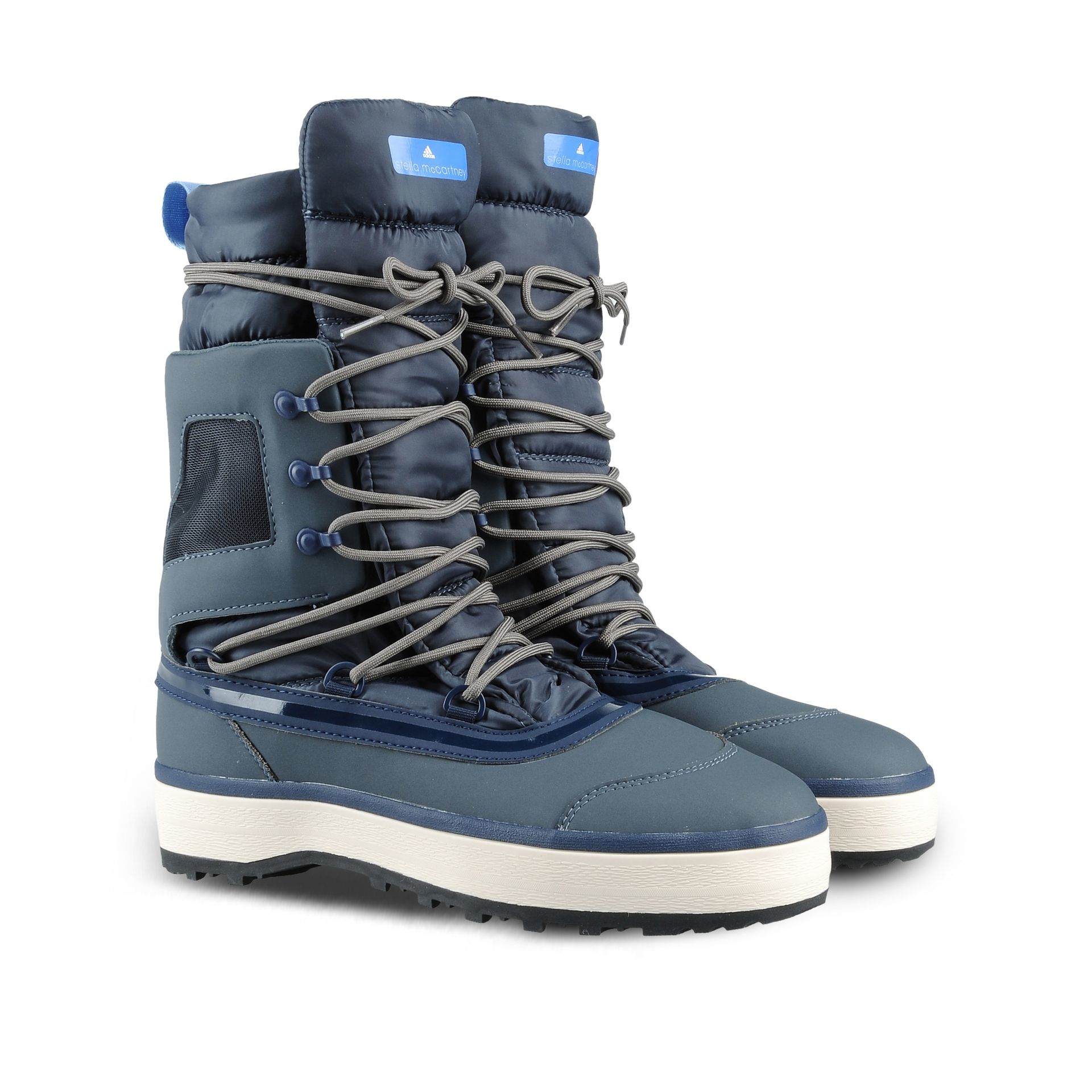Adidas by stella mccartney Winter Boots in Blue  Lyst