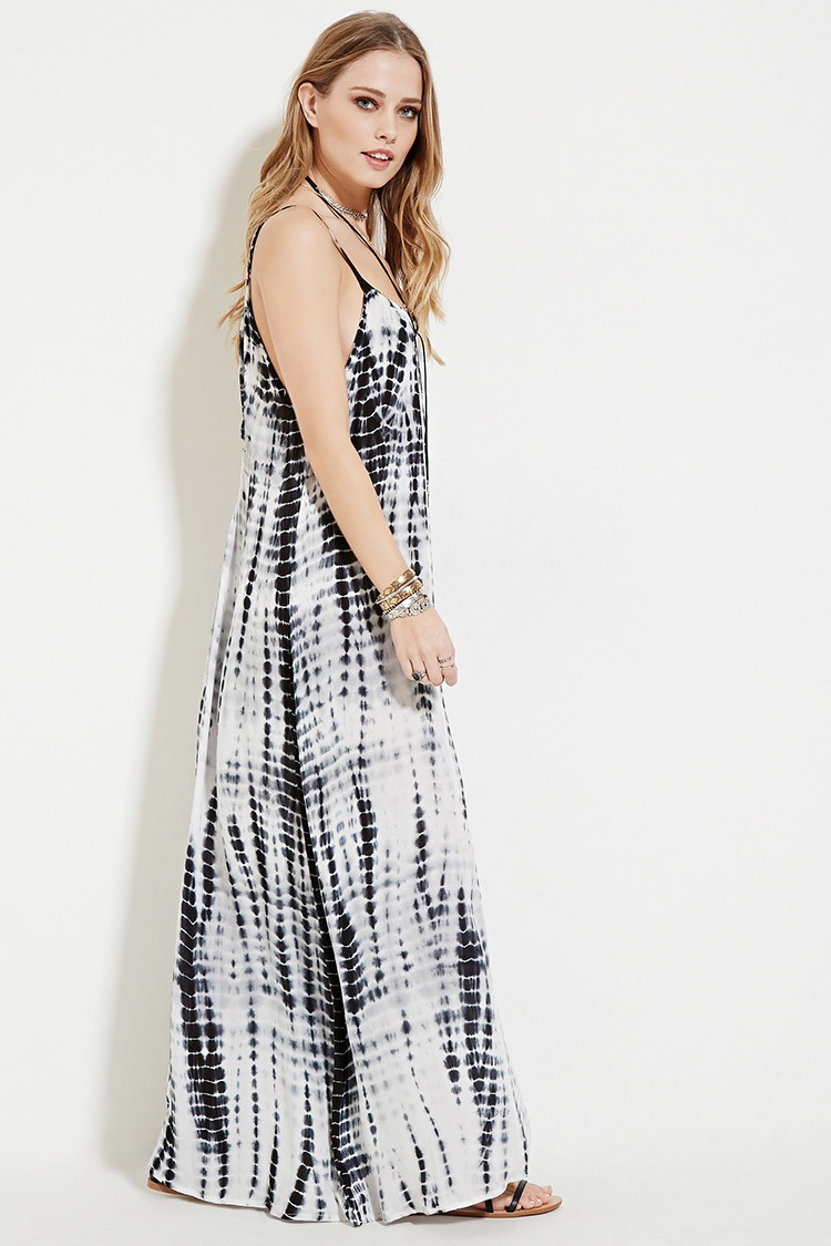 ff6ca2d4ba4b Tie Dye Maxi Dress Forever 21 - Dress Foto and Picture