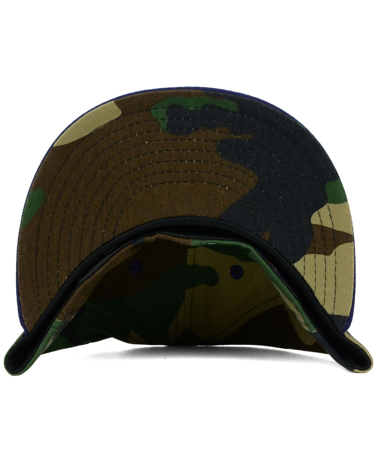 separation shoes 98ffe 91202 ... purchase lyst ktz cleveland indians camo pop 59fifty cap in green for  men bb48c 284ad