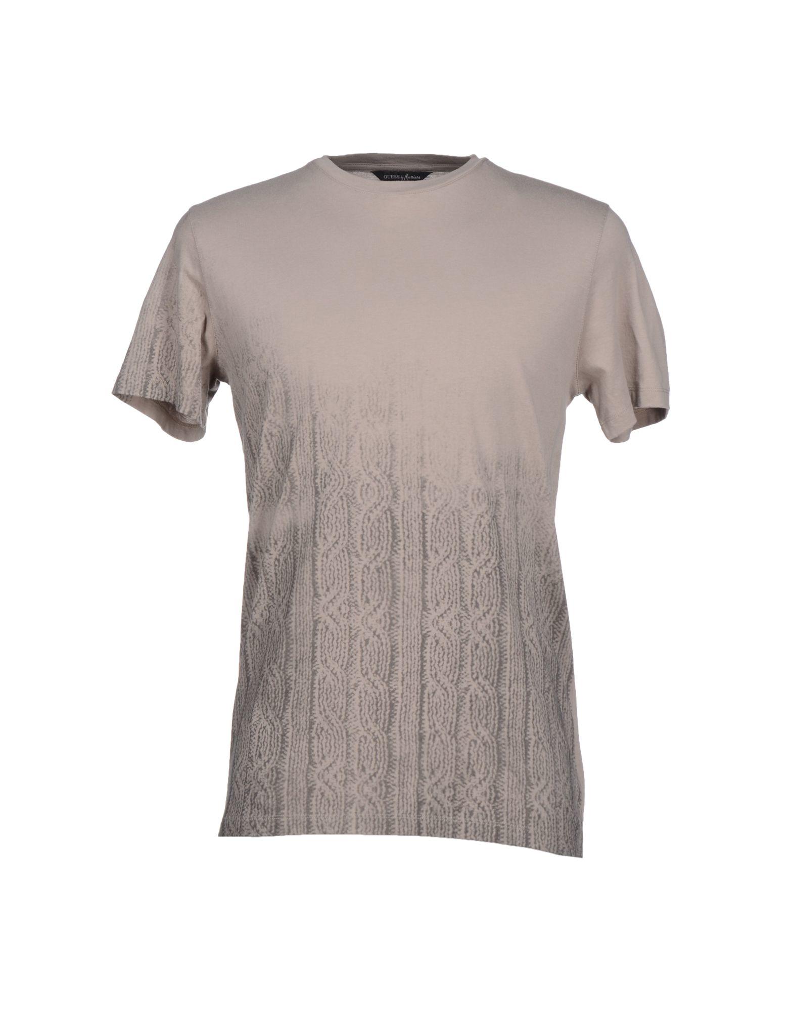 guess t shirt in khaki for men lyst. Black Bedroom Furniture Sets. Home Design Ideas
