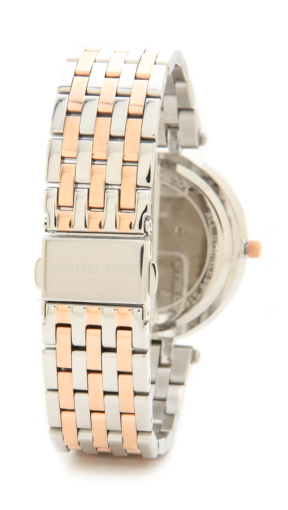 29b0ae657cce4 Michael Kors Darci Watch - Silver Rose Amethyst in Purple - Lyst
