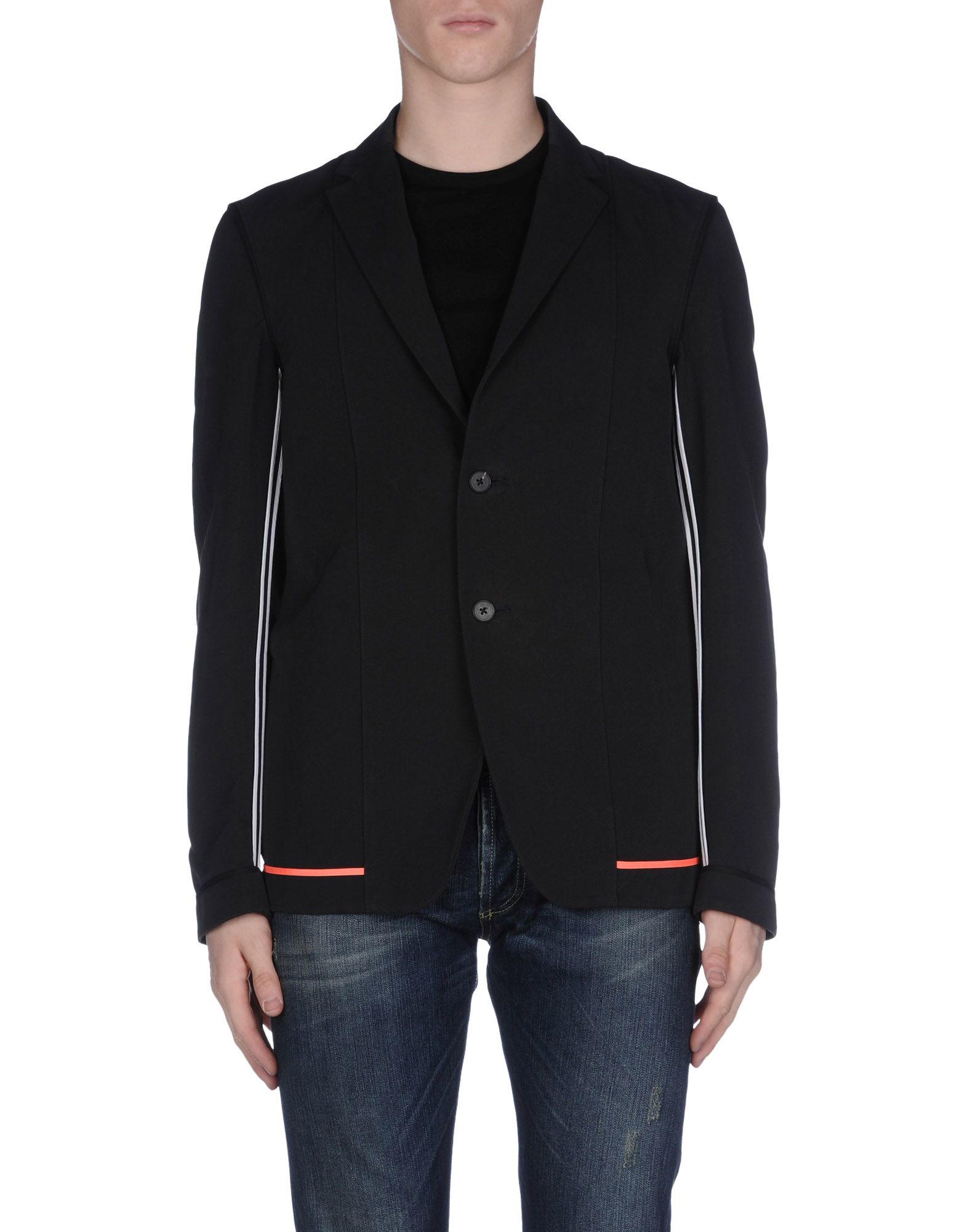 lyst jil sander blazer in black for men. Black Bedroom Furniture Sets. Home Design Ideas
