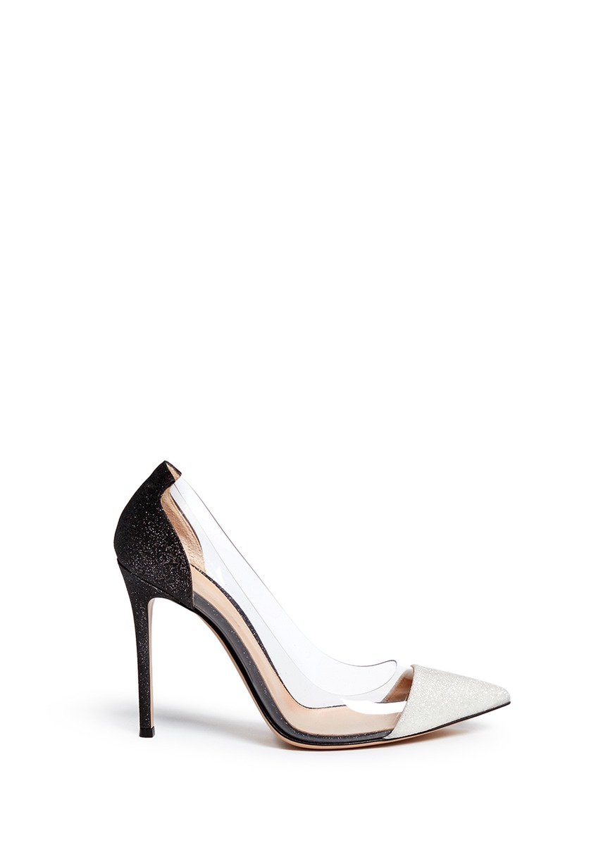 Gianvito Rossi Pumps PLEXI PVC transparent patent leather RXVySk0WKk