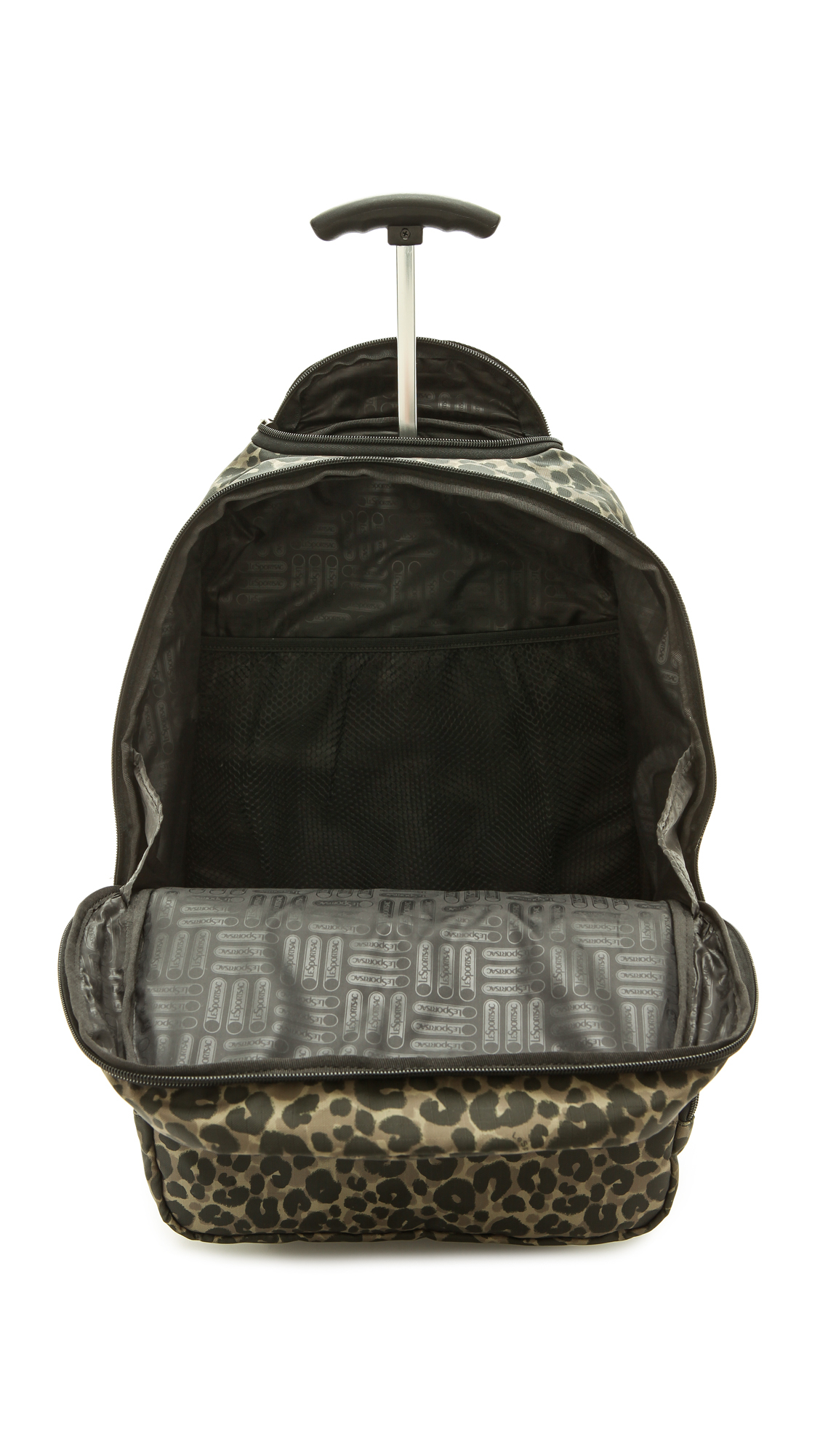 Lesportsac Rolling Backpack - Army Cheetah in Green | Lyst