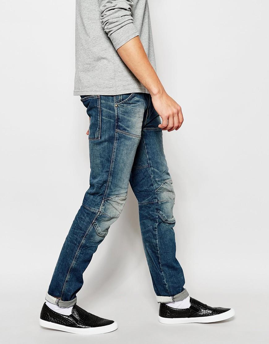 g star raw jeans 5620 elwood 3d slim fit wils stretch dark. Black Bedroom Furniture Sets. Home Design Ideas