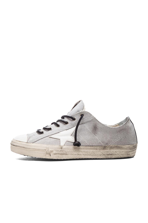 Golden Goose Black Suede V-Star 2 Sneakers Ueo2s7lFzs