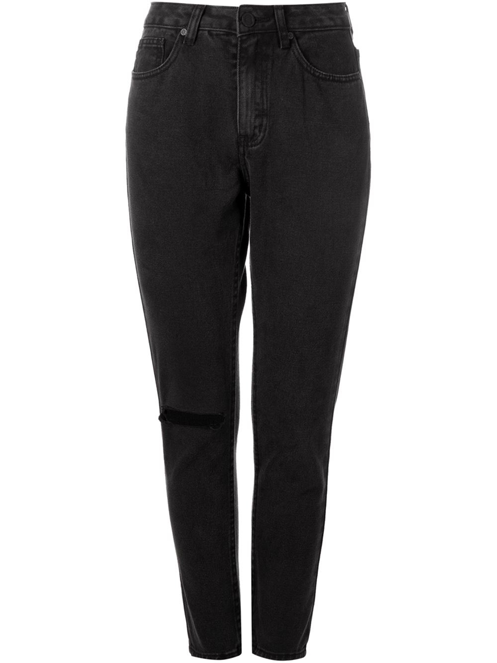 Lyst - Unif Distressed Jeans in Black