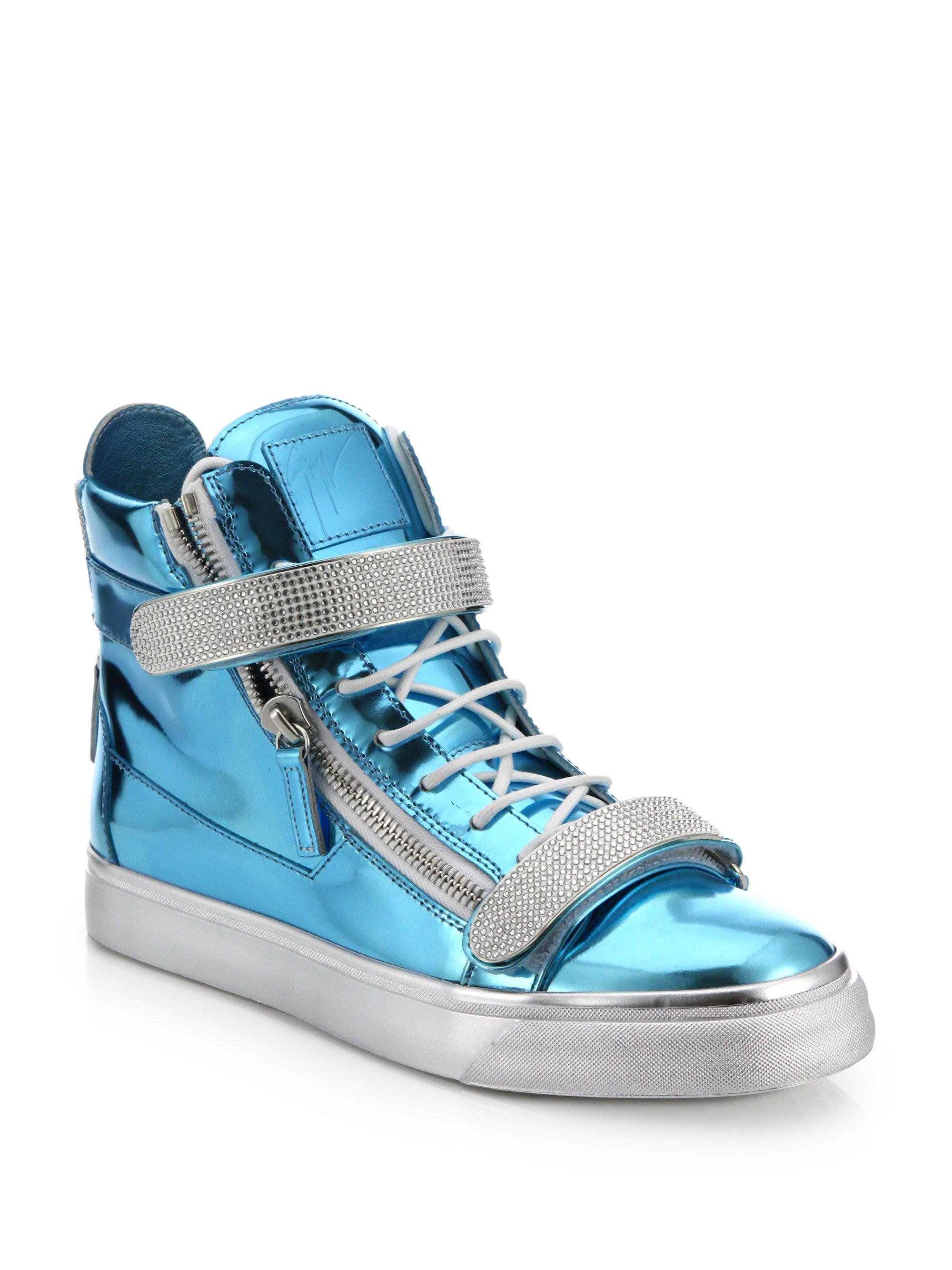 Giuseppe zanotti sneakers blue garden house lazzerini for Zanotti arredamenti