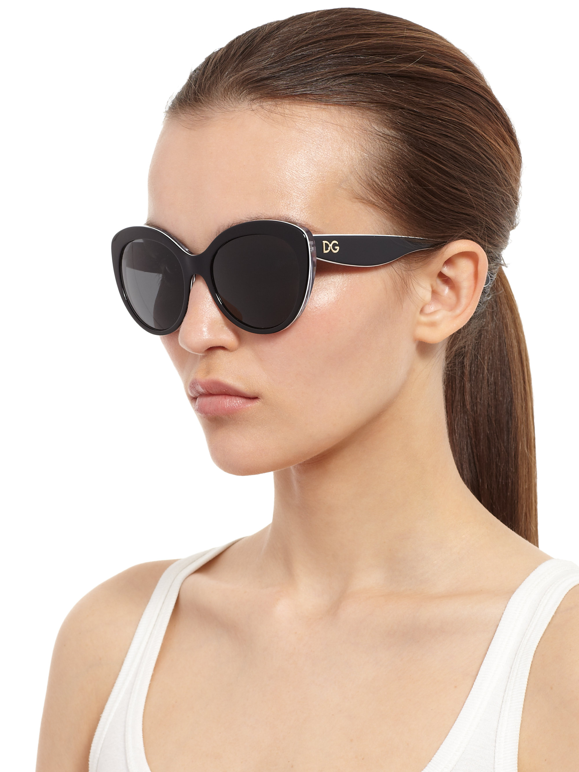 92940fae77 Gallery. Previously sold at: Saks Fifth Avenue · Women's Cat Eye Sunglasses