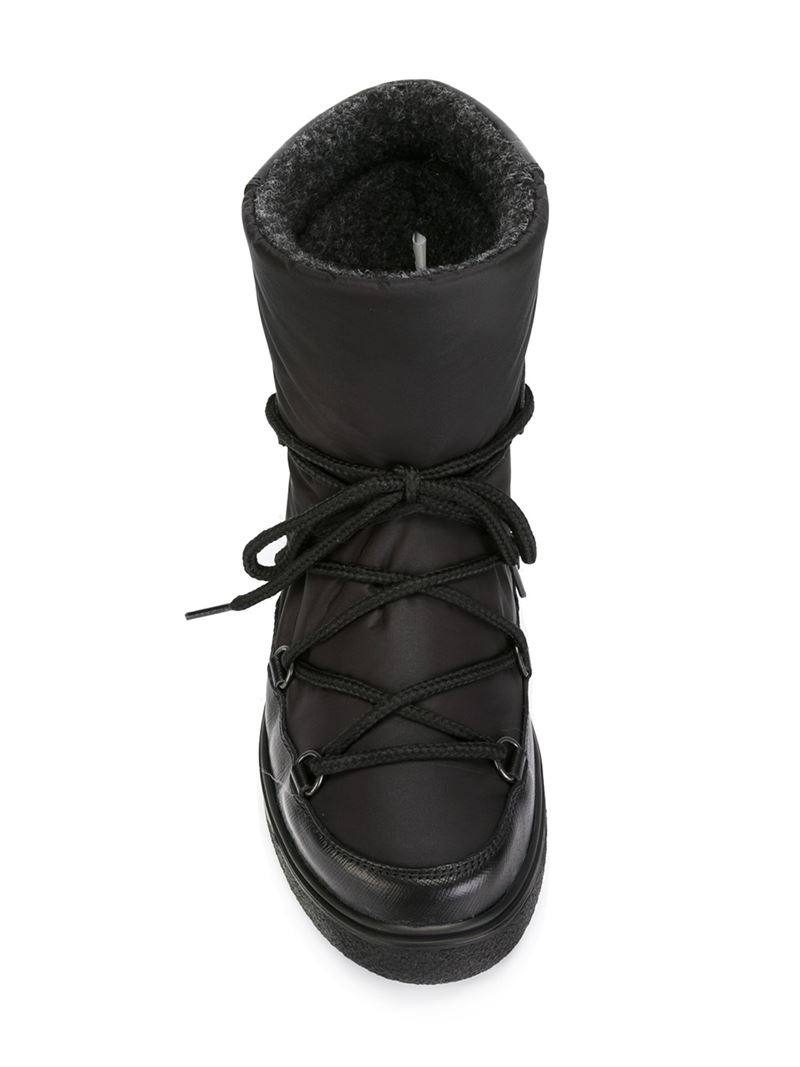 db7c0b1c759a Lyst - Moncler  fanny  Snow Boots in Black