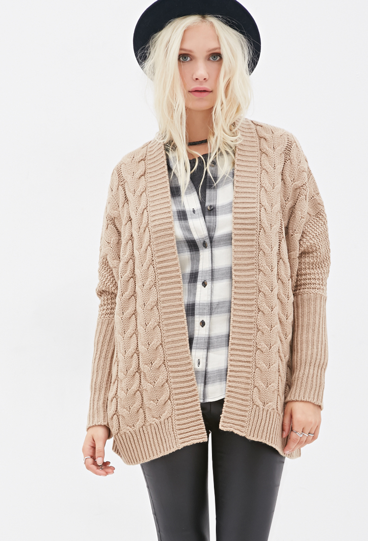 cc77f0aab8 Gallery. Women s Cable Knit Cardigans Women s Waterfall Cardigans Women s  Oversized ...