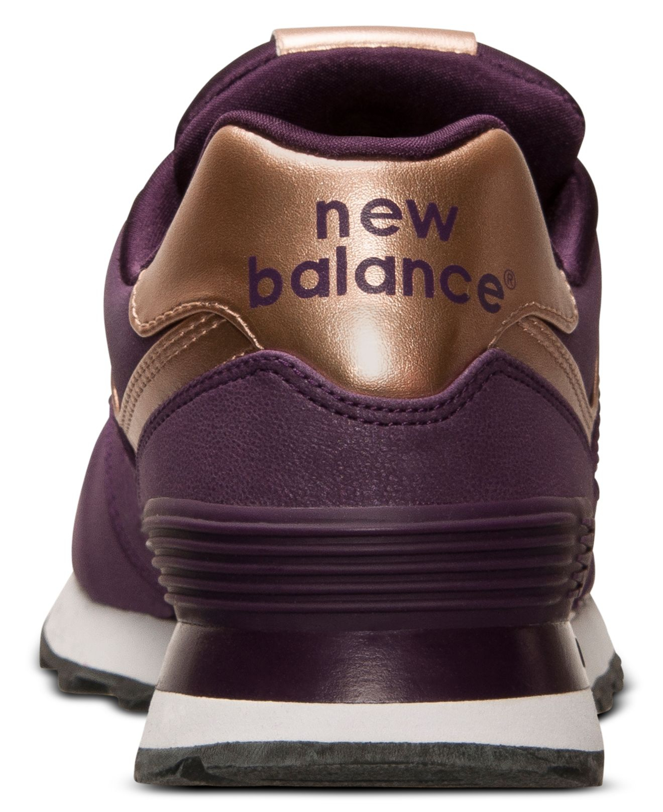 new balance purple rose