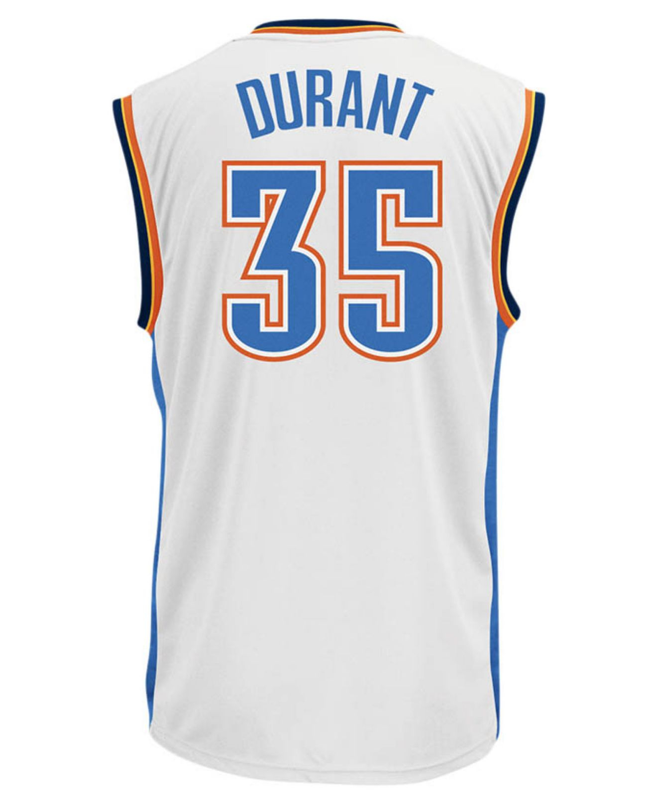 e4b497f2f adidas Originals Men s Oklahoma City Thunder Kevin Durant Jersey in ...