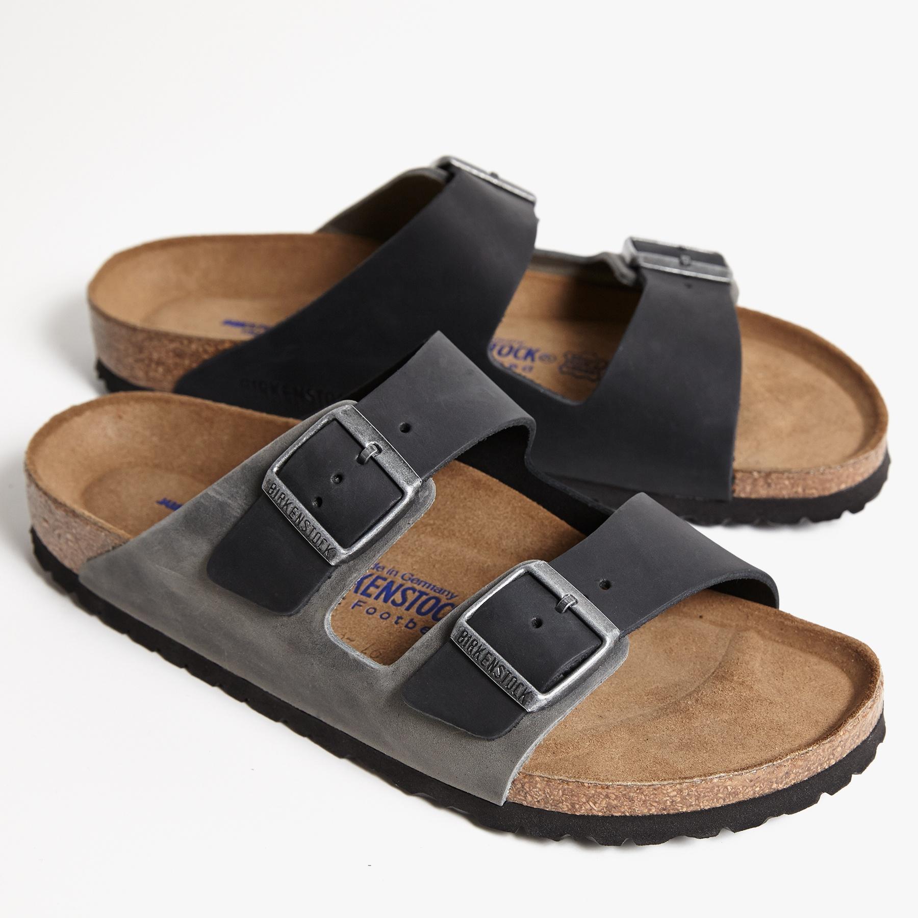 James Perse Birkenstock Arizona Sandal Mens In Black For