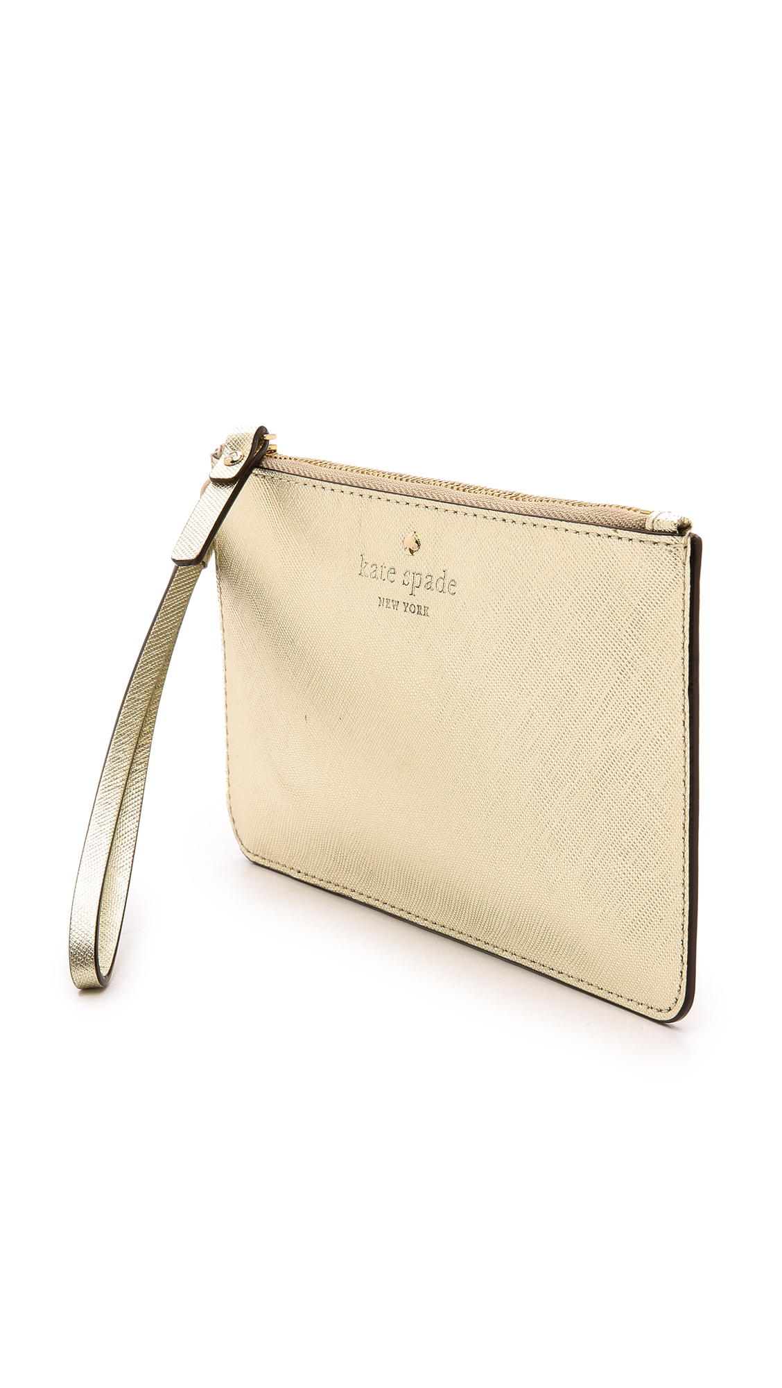 kate spade iphone wristlet kate spade new york cedar slim bee wristlet gold 2476
