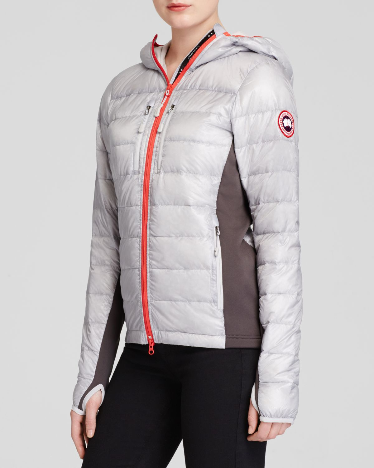 canada goose hybridge hooded jacket
