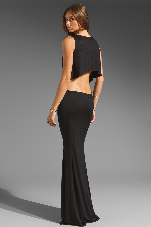 Boulee Cruz Open Back Maxi Dress in Black   Lyst