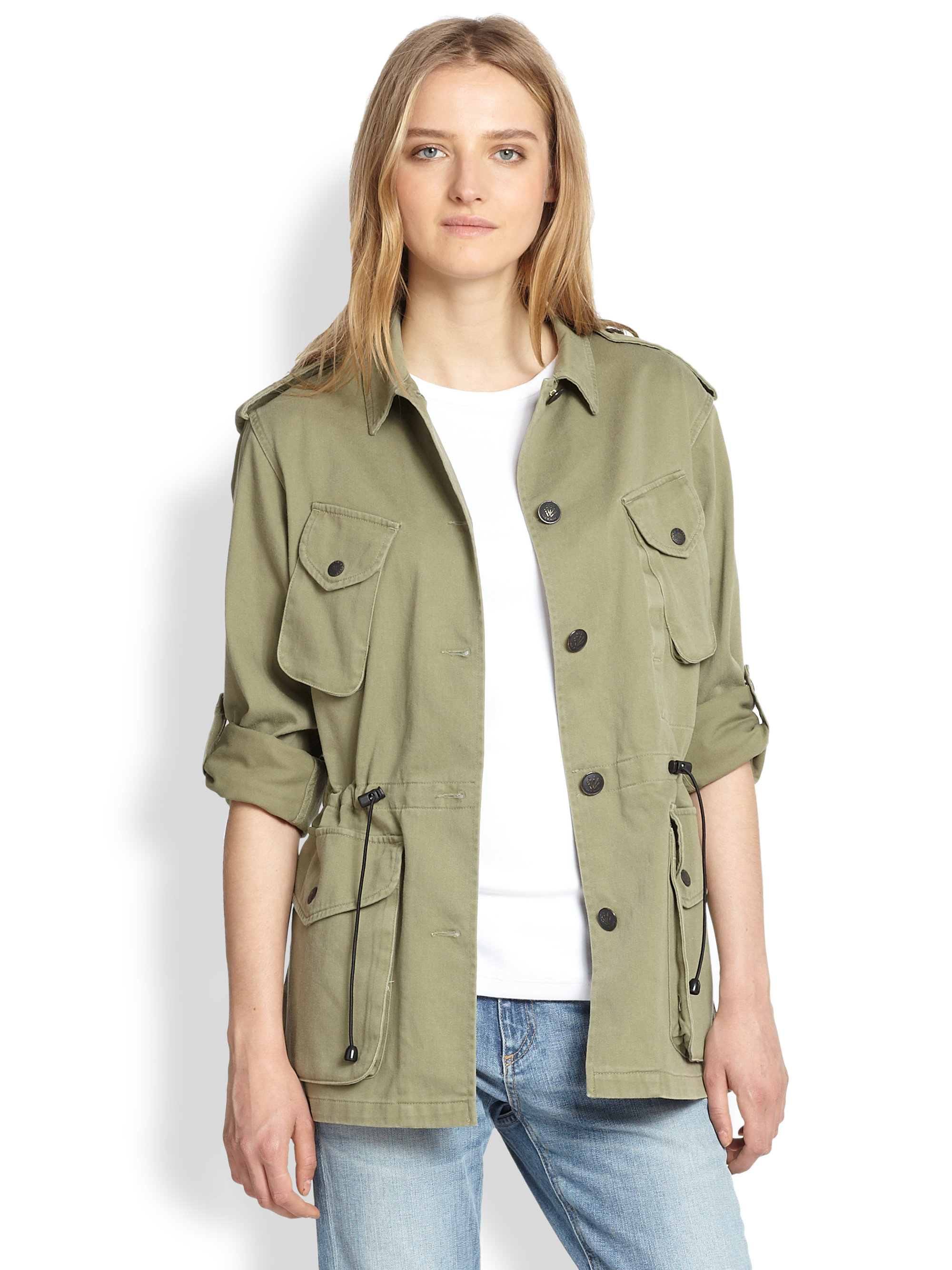 Utility Jacket Jackets And Nike: Rag & Bone Ohara Utility Jacket In Green