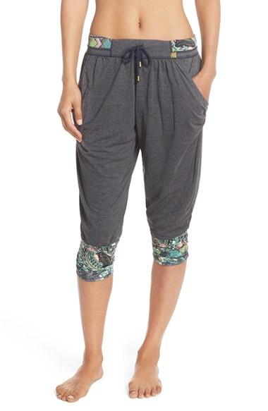 884f0b2da5bcd Lyst - Maaji 'sea Breezy' Crop Yoga Pants in Black