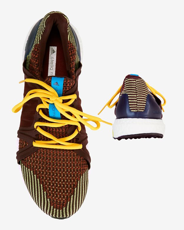 new concept 32b8e 248a9 ... best price lyst adidas by stella mccartney ultra boost running sneaker  in brown 6d66d db78c
