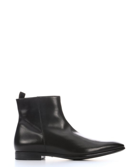 side zip boots - Black Giorgio Armani