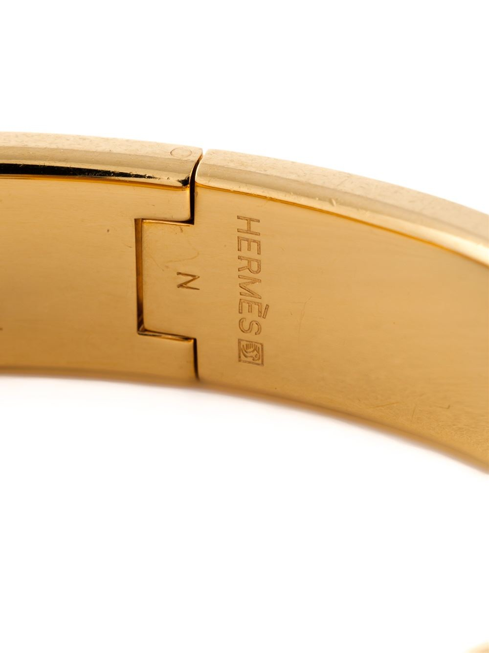 Lyst Herm 232 S Clic Clac H Bracelet In Black