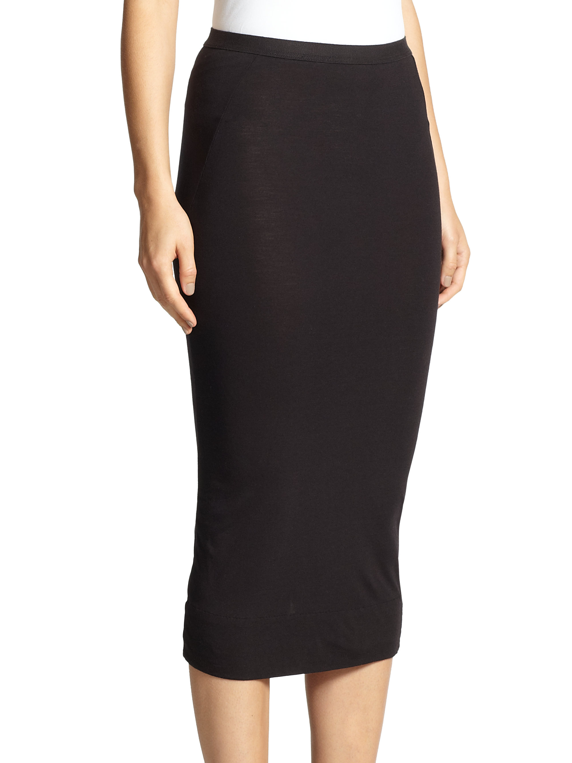 Rick Owens Lilies fitted pencil skirt Cheap Professional Cost Cheap Price Buy Cheap Outlet Locations EmwkXHcFix