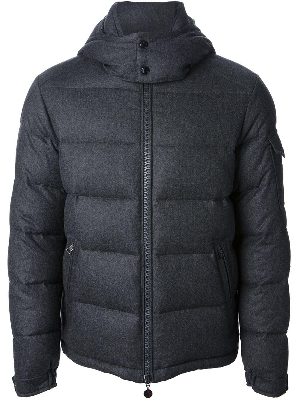 Moncler Montgenevre Jacket In Gray For Men Lyst
