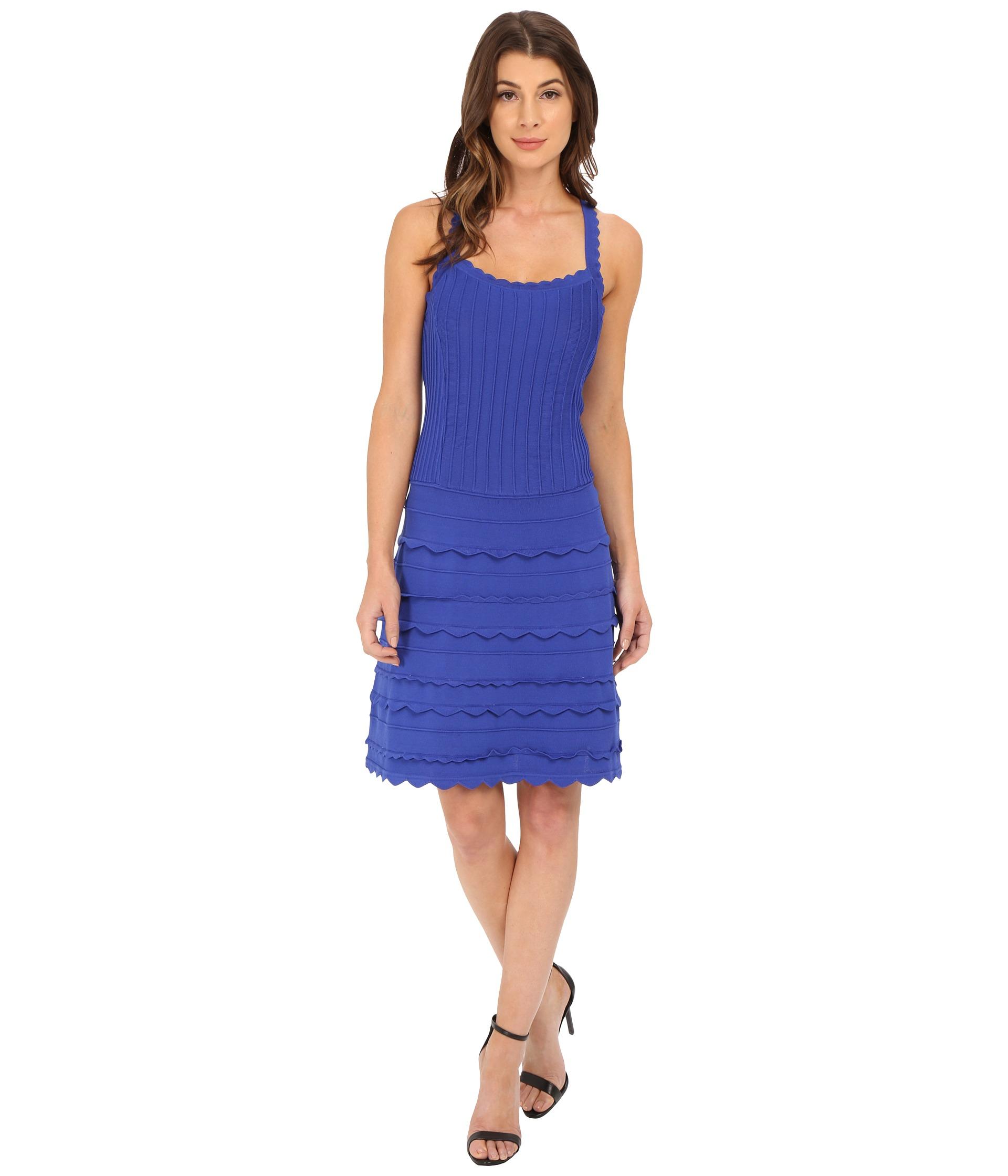 Nanette lepore cobalt blue dress