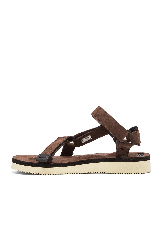 0d4bd71be97a Lyst - Suicoke Depa-ecs Sandal in Brown