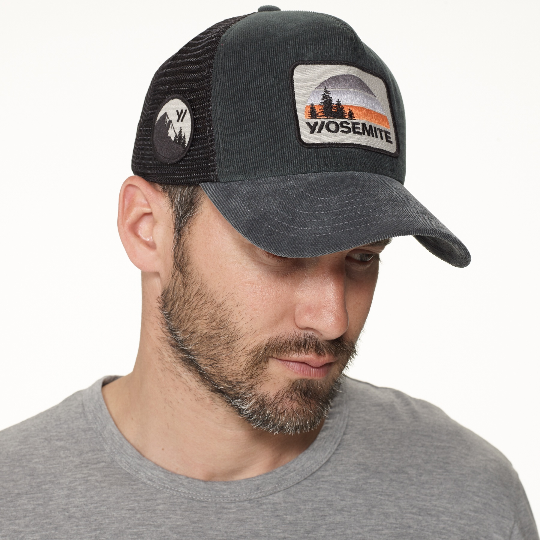 6190cc1dbce James Perse Yosemite Trucker Hat in Black for Men - Lyst