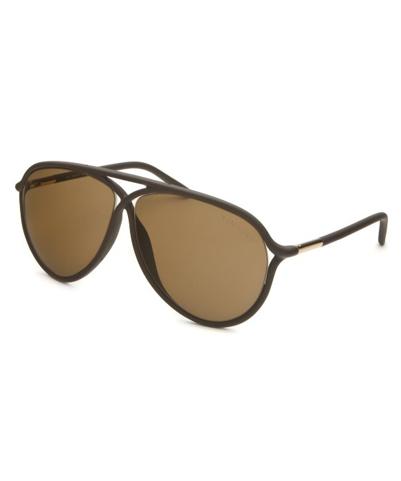 tom ford womens maximillion aviator matte brown sunglasses in brown. Cars Review. Best American Auto & Cars Review