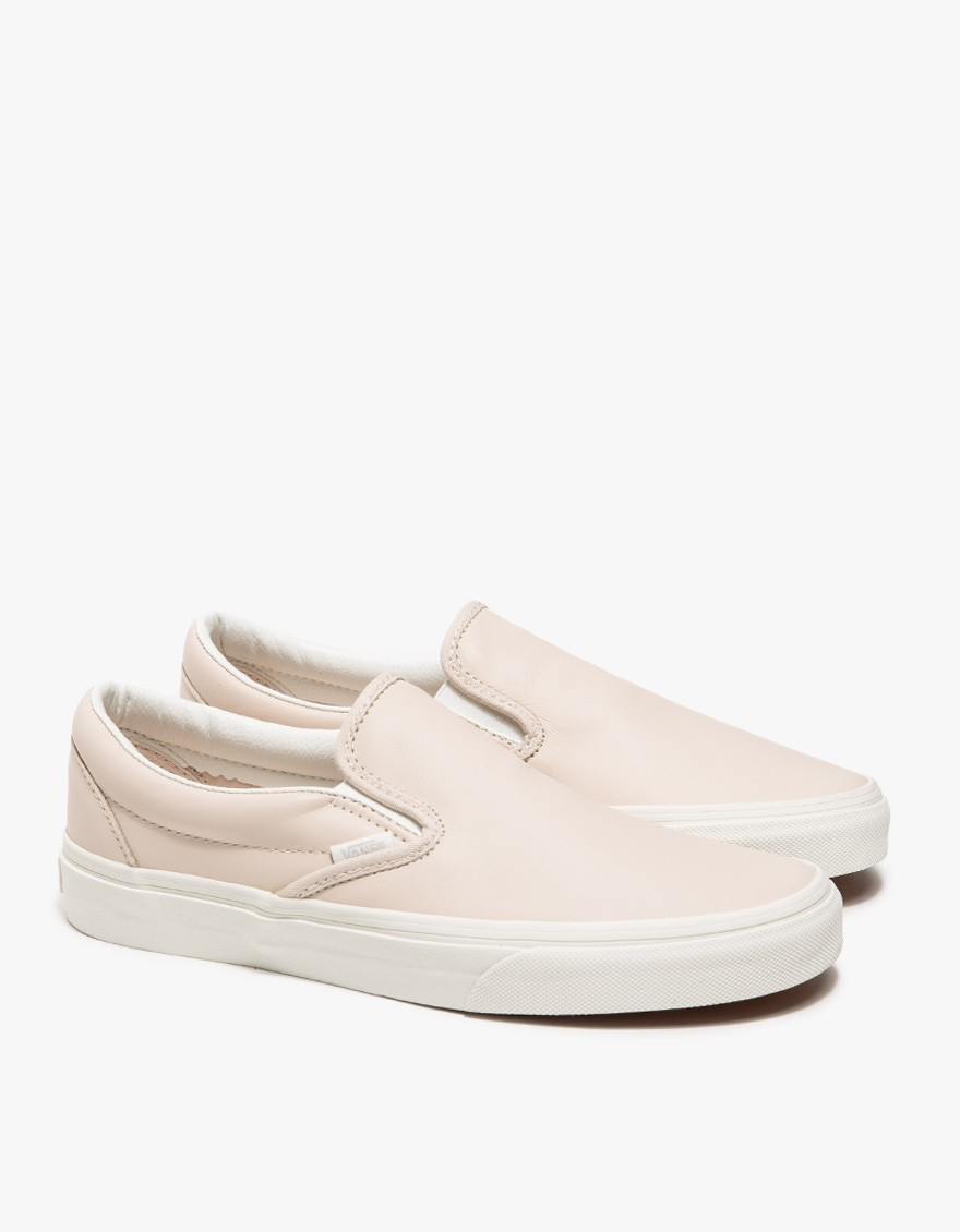 af25053625fe15 Classic Classic Slip Lyst In Leather On On On Vans Pink THqqxZf
