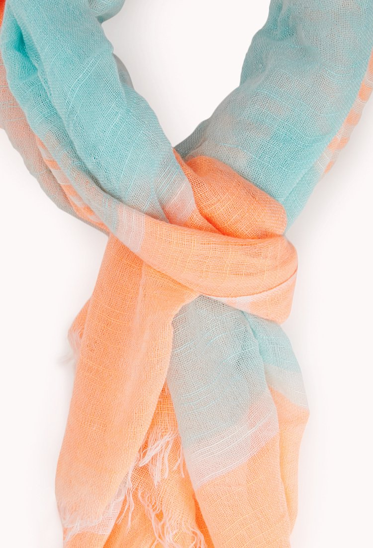 21 Pastel Blue Bedroom Designs Decorating Ideas: Forever 21 Pastel Dream Multi-striped Scarf In Blue