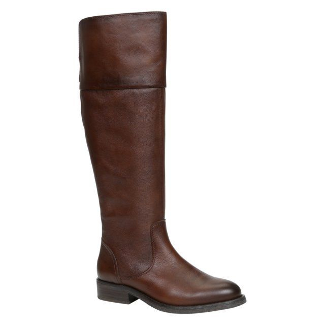 aldo ziawia knee high boots in brown lyst