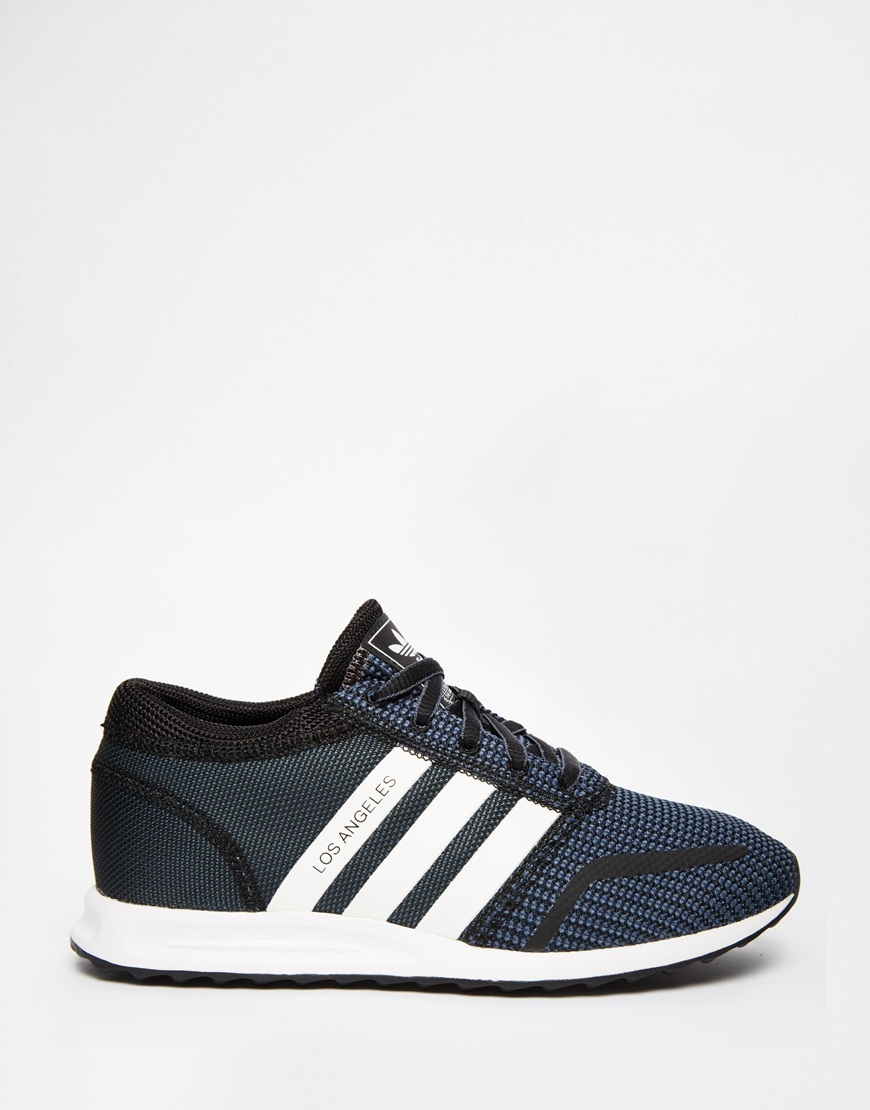 Adidas Originals Originals Top Ten Low Sneaker In Black: Adidas Originals Originals Black & White Los