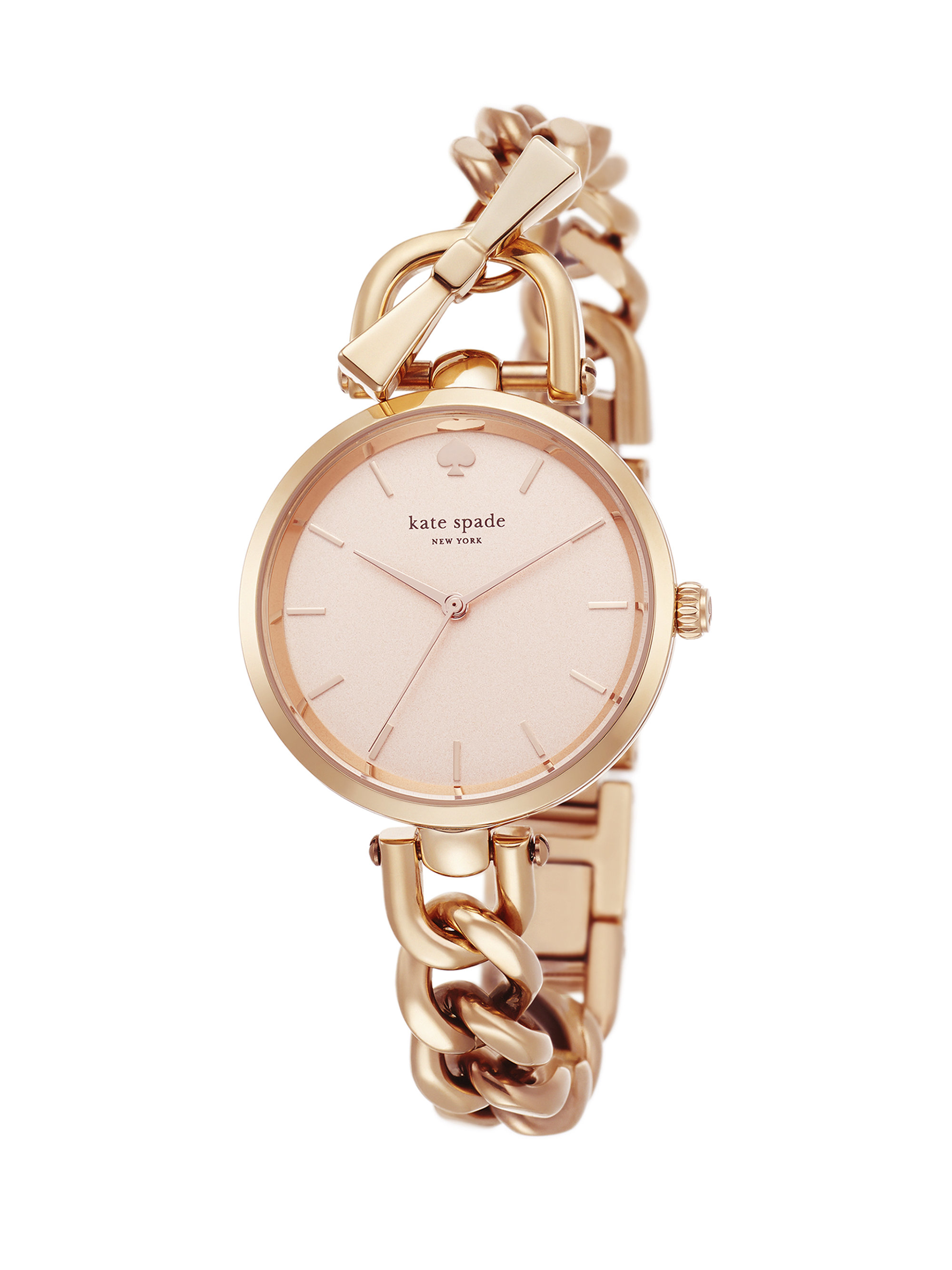 6b8e1fdb37d Lyst - Kate Spade Holland Rose Goldtone Stainless Steel Toggle ...